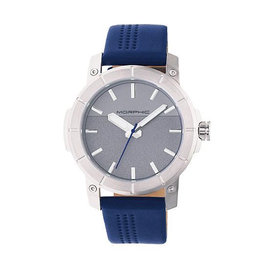 Morphic Unisex Blue Bracelet Watch Mph5402