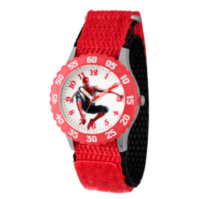 Avengers Boys Red Strap Watch-Wma000242