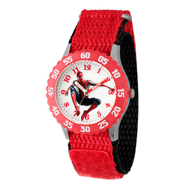 Avengers Avengers Boys Red Strap Watch-Wma000242
