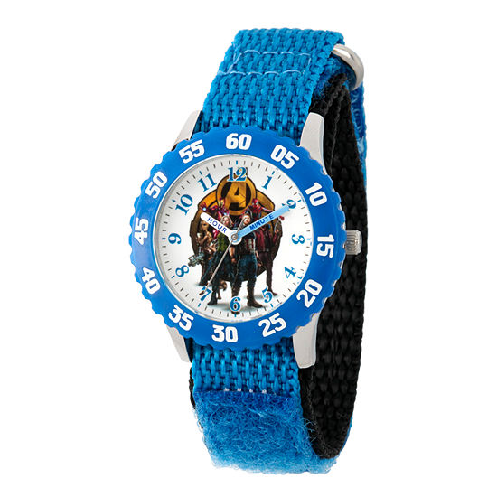 Avengers Boys Blue Strap Watch-Wma000243