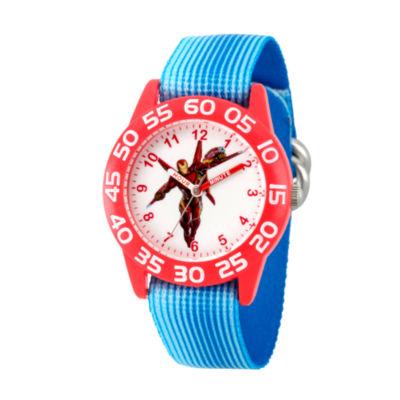 Avengers Avengers Boys Blue Strap Watch-Wma000247