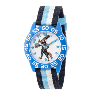 Avengers Avengers Boys Black Strap Watch-Wma000248