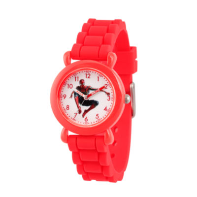 Avengers Avengers Boys Red Strap Watch-Wma000256