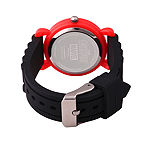 Avengers Boys Black Strap Watch-Wma000257