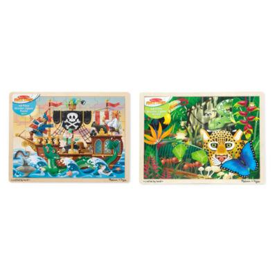 Melissa & Doug Flr 48 - pc Floor Puzzle - Rainforest