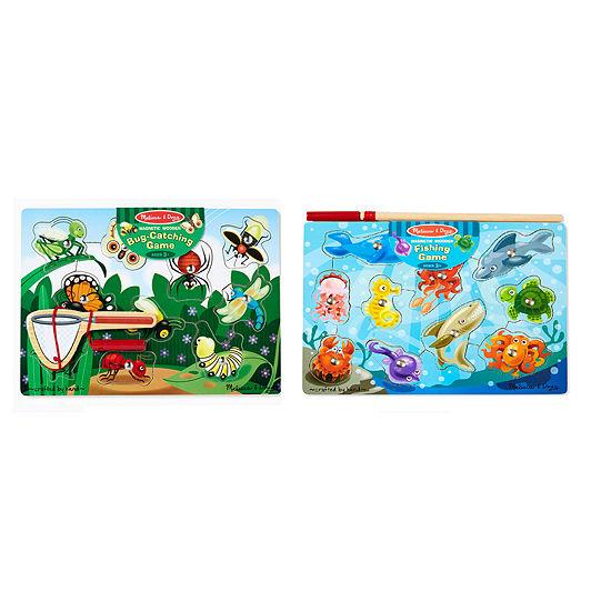 Melissa & Doug® Fishing & Bug Catching Magnetic Game Bundle