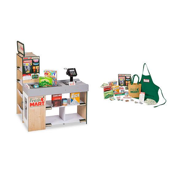 Melissa & Doug Lets Play- Grocery Store Bundle