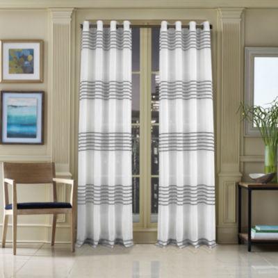 Queen Street Freeport Grommet-Top Curtain Panel