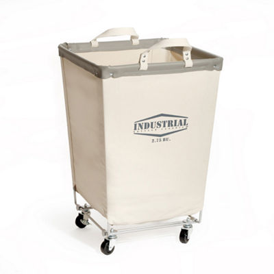 Seville Classics® Commercial Heavy-Duty Canvas Laundry Hamper with Wheels