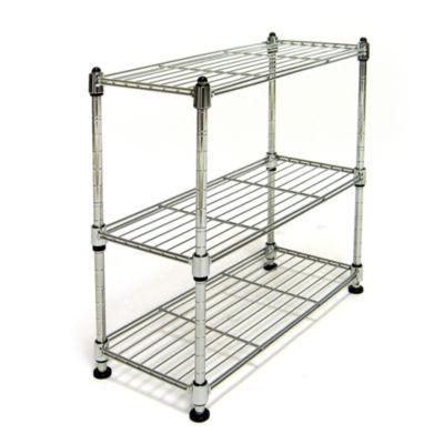 Seville Classics® 3-Tier Ultra Zinc Cabinet Organizer