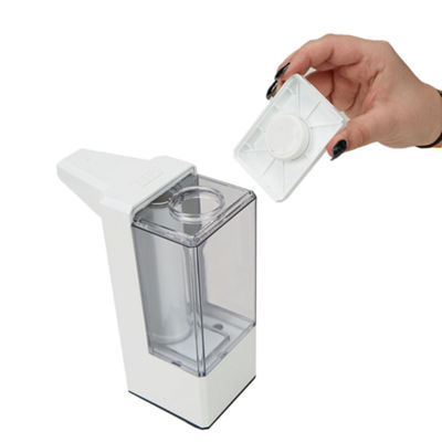Mind Reader 15.21oz Refillable Hands-Free Automatic Soap Dispenser Square with Sensor Pump