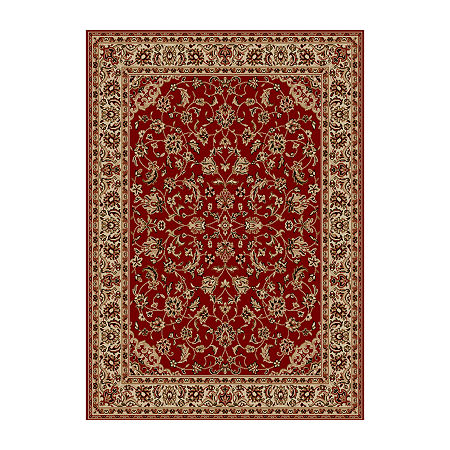 Como Sarouk Traditional Oriental Area Rug. One Size . Red