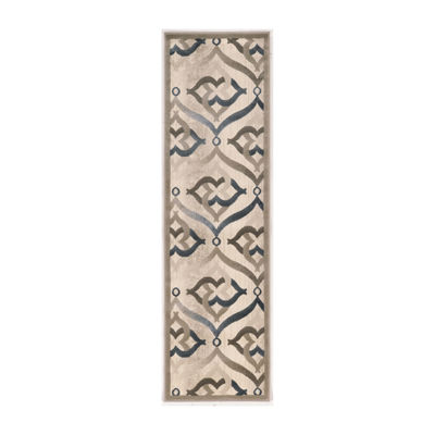 Iseo Jamal Modern Geometric Contemporary Area Rug