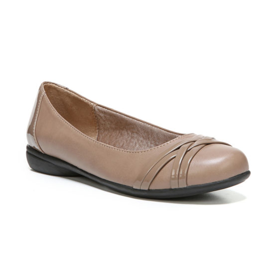 Lifestride Aliza Womens Ballet Flats Slip-on Round Toe