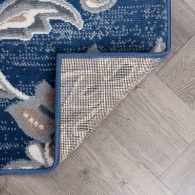 Tayse Garland Transitional Floral Rug