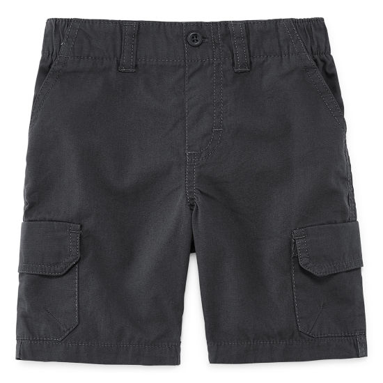 Okie Dokie Twill Cargo Shorts - Toddler Boys