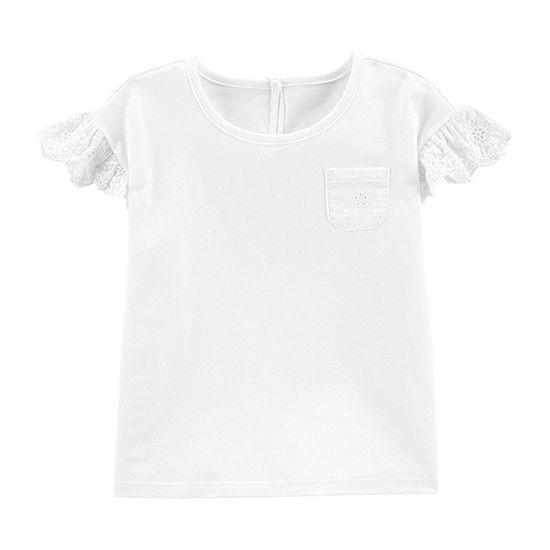 Oshkosh-Toddler Girls Long Sleeve T-Shirt