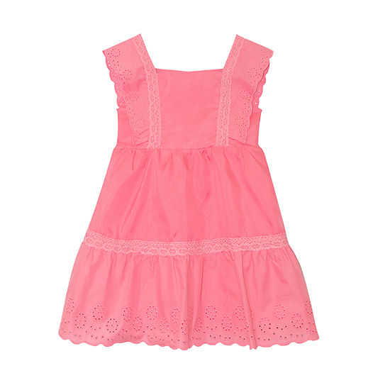 Nannette Baby - Toddler Girls Sleeveless A-Line Dress