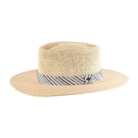 1950s Mens Hats | 50s Vintage Men's Hats Dockers Mens Panama Hat Large-x-large  Brown $19.19 AT vintagedancer.com