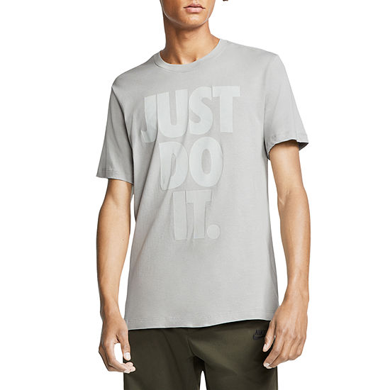 Nike Just Do It Mens Crew Neck Short Sleeve T-Shirt