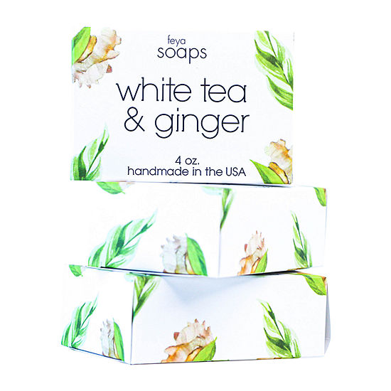 White Tea & Ginger Soap Potpourri - Set Of 3