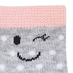 Carter's 6pk Emoji Sock Baby Girls 6 Pair Crew Socks