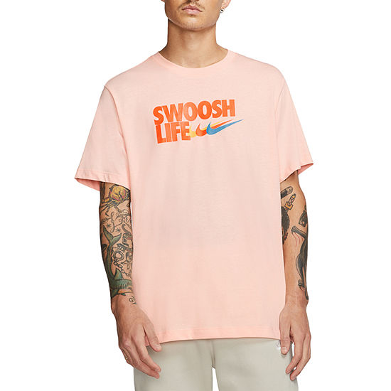 Nike Swoosh Life Mens Crew Neck Short Sleeve T-Shirt