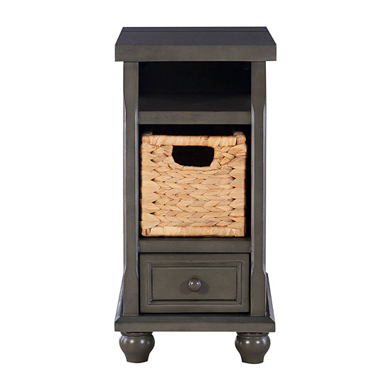 L. Powell Co. Hudson 1-Drawer Storage End Table
