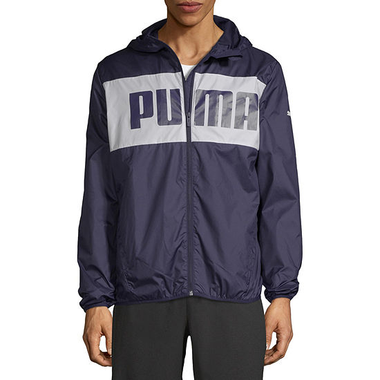 Puma Blocks Hooded Lightweight Windbreaker