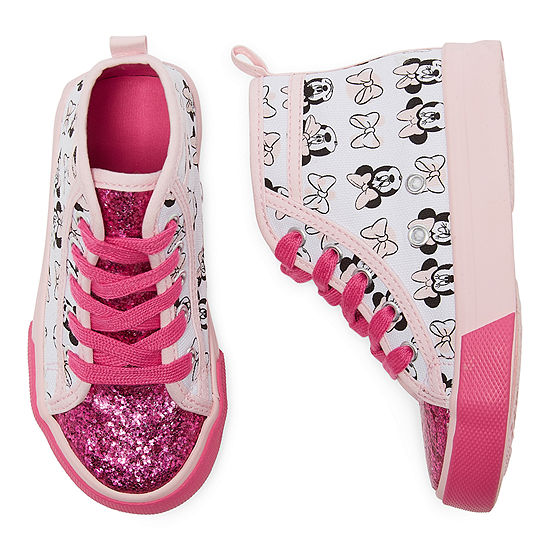 Disney Collection Girls Minnie Mouse Sneakers