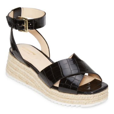 Liz Claiborne Womens Eastside Strap Sandals
