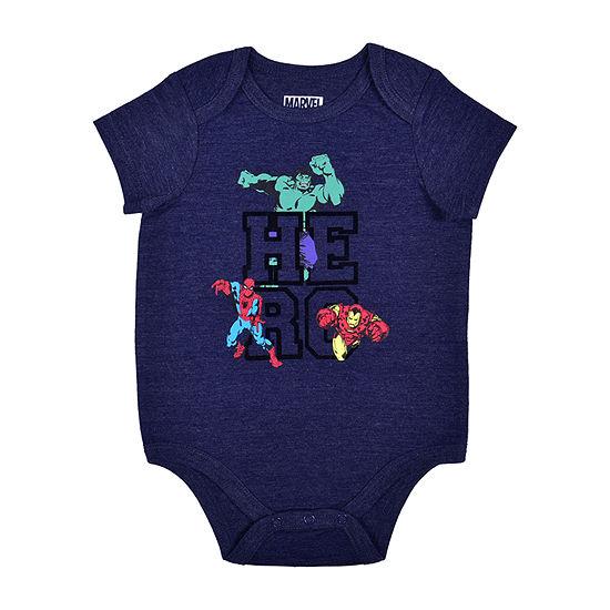Okie Dokie Baby Boys Marvel Bodysuit