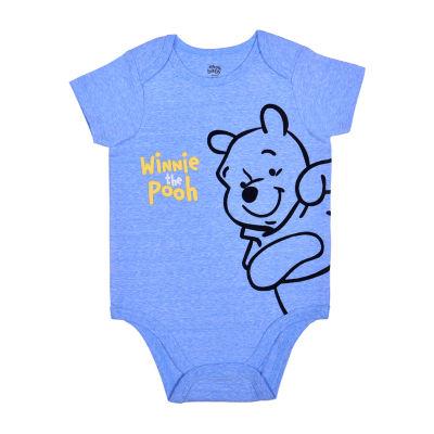 Okie Dokie Baby Boys Winnie The Pooh Bodysuit
