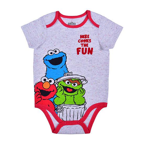 Okie Dokie Baby Boys Sesame Street Bodysuit