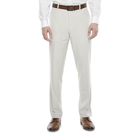 1920s Men's Pants, Trousers, Plus Fours, Knickers JF J.Ferrar 360 Mens Classic Fit Suit Pants 34 29 Beige $33.74 AT vintagedancer.com