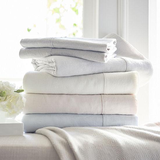 Fieldcrest Luxury Linen Sheet Set