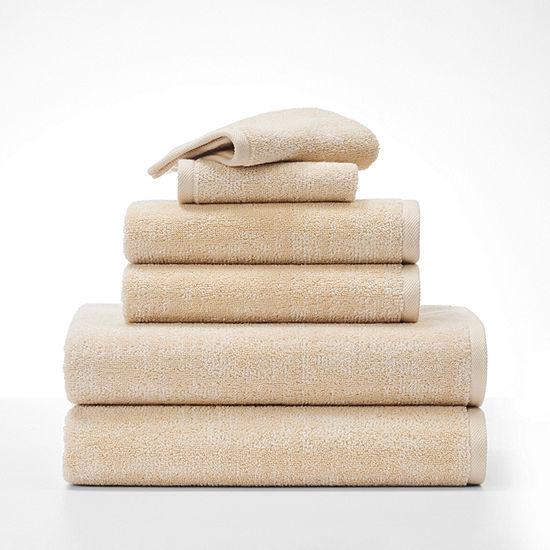 Fieldcrest Jacquard Textured Bath Towel Sets