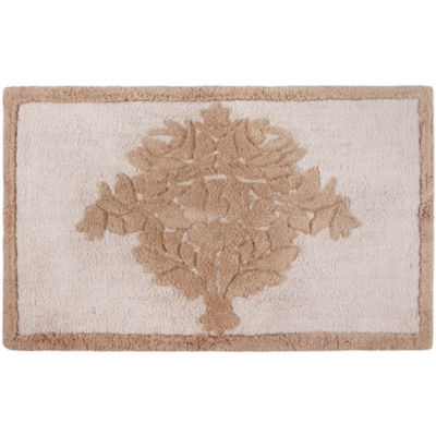 Queen Street® Bianca Damask Bath Rug