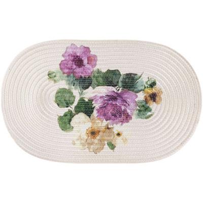 Queen Street® Carlyon Floral Bath Rug