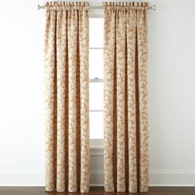 Royal Velvet® Sloane Rod-Pocket Curtain Panel