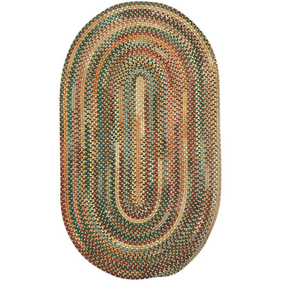 Capel American Traditions Braided Wool Oval Accent, Area and Runner Rugs