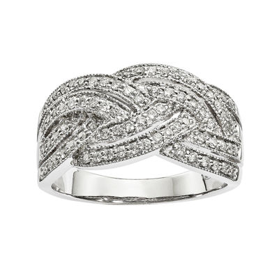 1/2 CT. T.W. Diamond 14K White Gold Ring