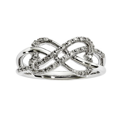 1/5 CT. T.W. Diamond 14K White Gold Ring