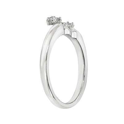 Diamond Accent 14K White Gold Ring Wrap