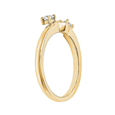 1/10 CT. T.W. Diamond 14K Yellow Gold  Ring Wrap