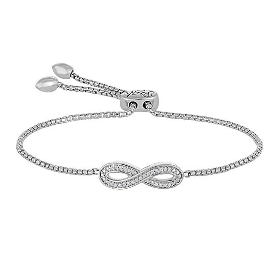 c5bd3159c Rhythm and Muse Diamond Accent Sterling Silver Infinity Bracelet - JCPenney