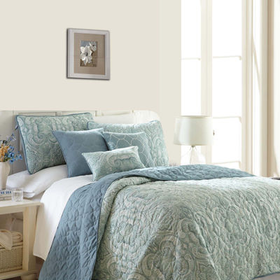 Pacific Coast Textiles Bali 6-pc. Reversible Quilt Set