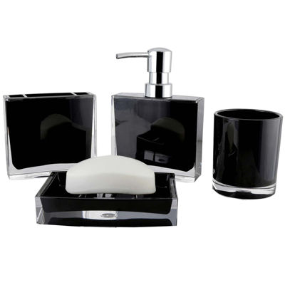 Contemporary 4-pc. Bath Accessory Set