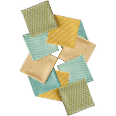 Design Imports Laguna Set of 10 Assorted Dishcloths