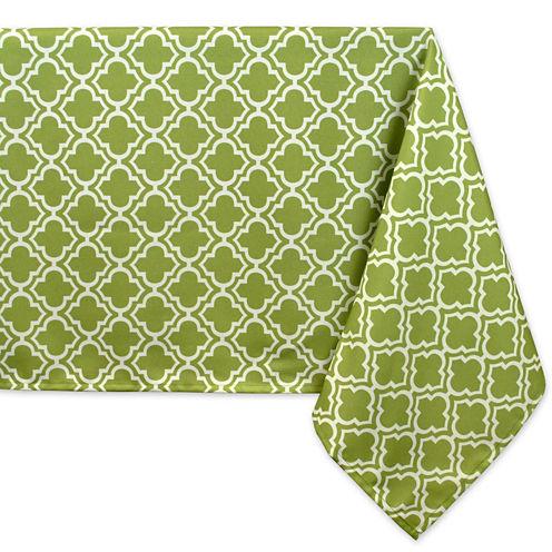 Design Imports Lattice Umbrella Tablecloth